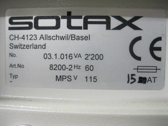 SOTAX DISSOLUTION SYSTEM