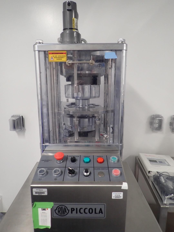 Riva Piccola Tablet Press, Type D-8, 8 Station