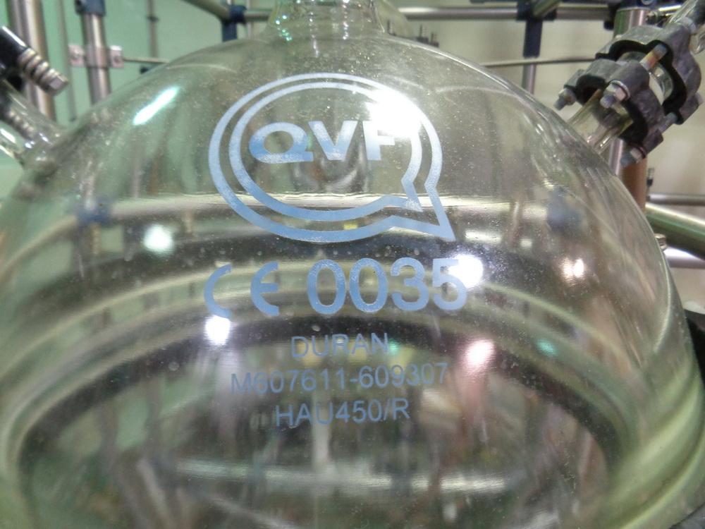 150 Liter QVF Schott Glass Receiver