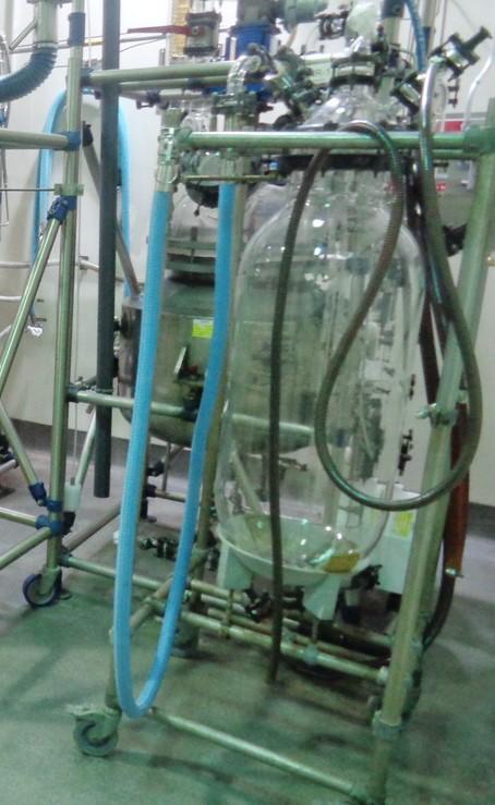 75 Liter QVF Schott Glass Receiver