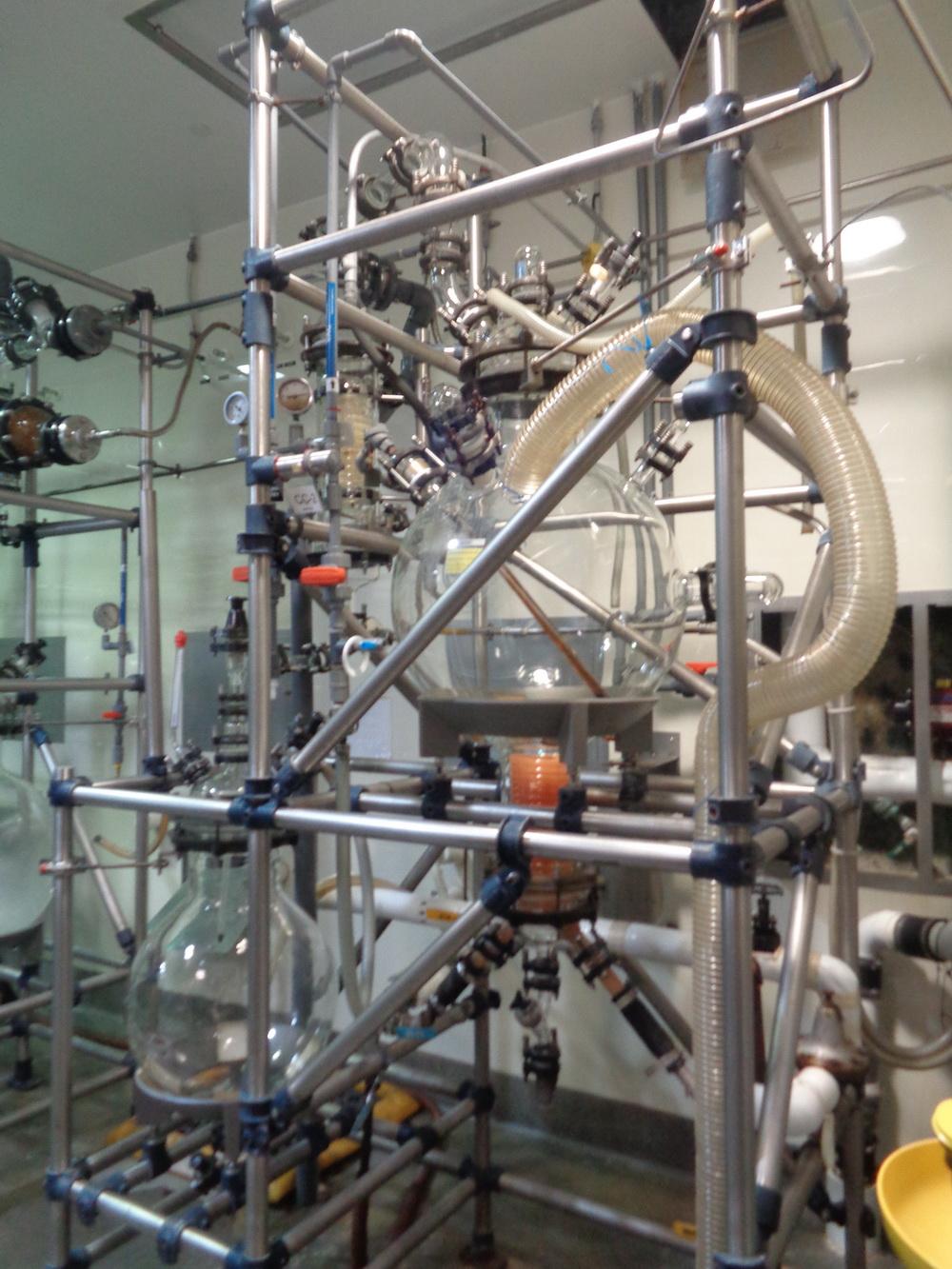 100 LIter Dedietrich Circulation Evaporator