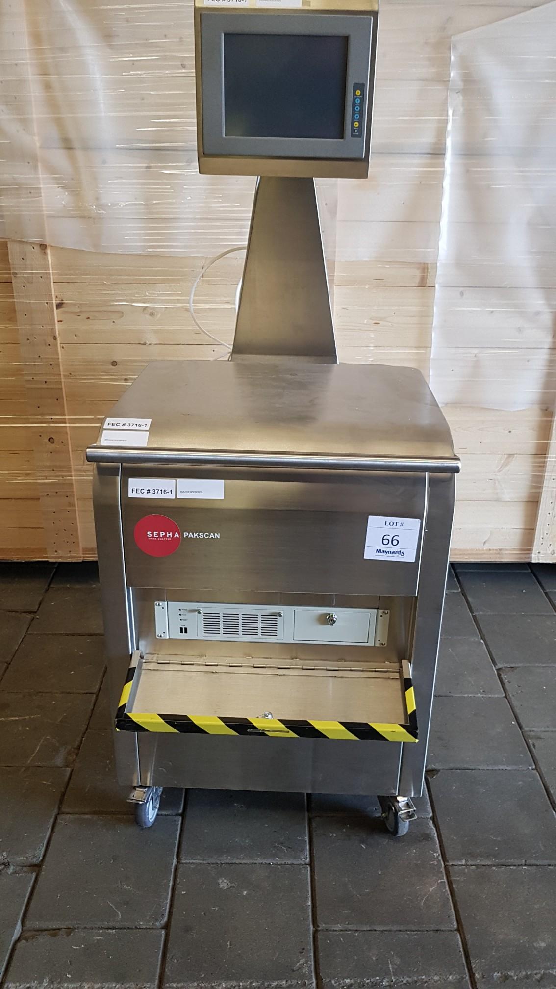 Sepha Pakscan T601-001-002 Blister Pack Test Machine