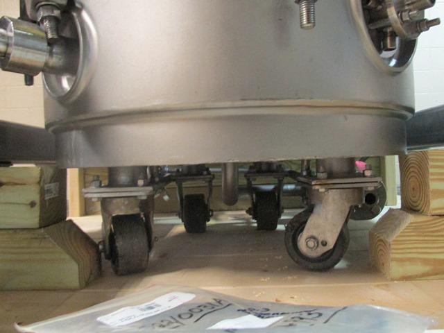 .3 sq mt Rosenmund Filter Dryer, 316L s/s