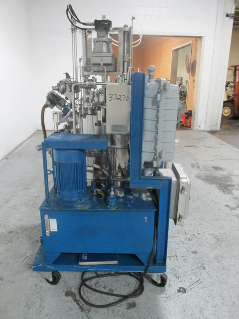 .2 Sq Meter Rosenmund Nutsche Filter, 316L s/s
