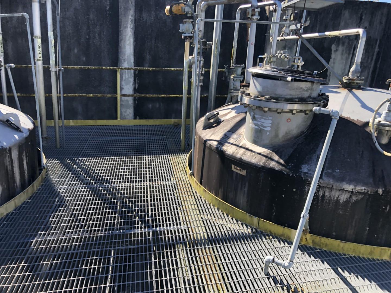 15,000 Gal Four Corp Tank, 316L S/S