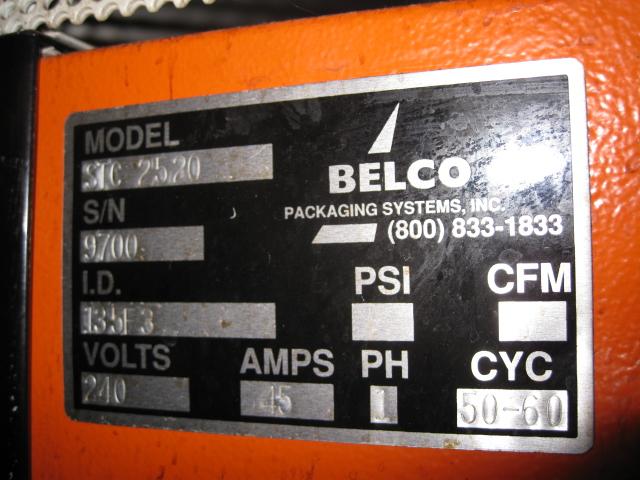 BELCO L BAR SEALER, MODEL STC-2520