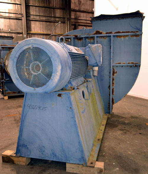 500 HP Buffalo Forge Blower, 60000 ACFM