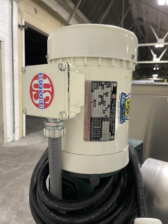 3 Cu Ft Gemco Slant Cone Blender, S/S, 85# Density