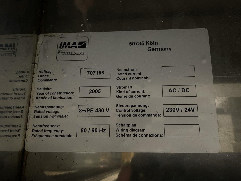 IMA Pressima Tablet Press