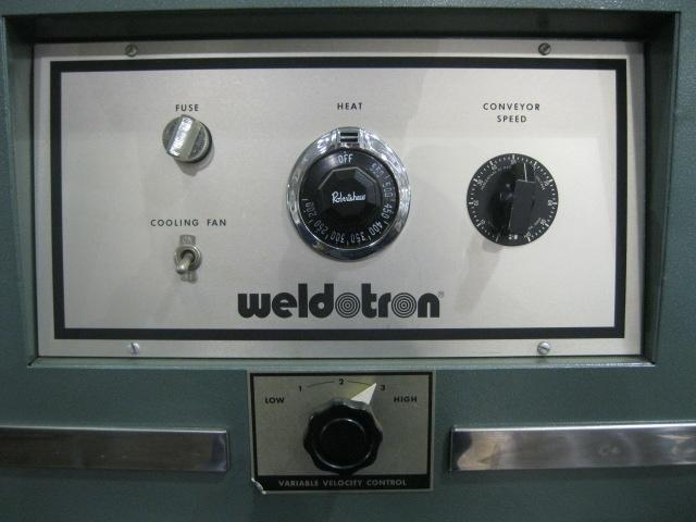WELDOTRON HEAT TUNNEL, MODEL 7121