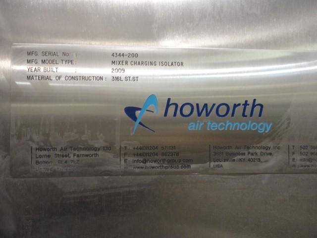 """9''6"""" HOWORTH ISOLATOR, 316L S/S, UNUSED"""