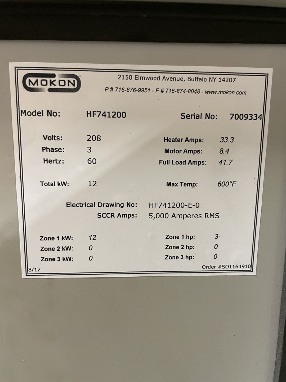 12 KW Mokon Oil Heater, Model HF741200