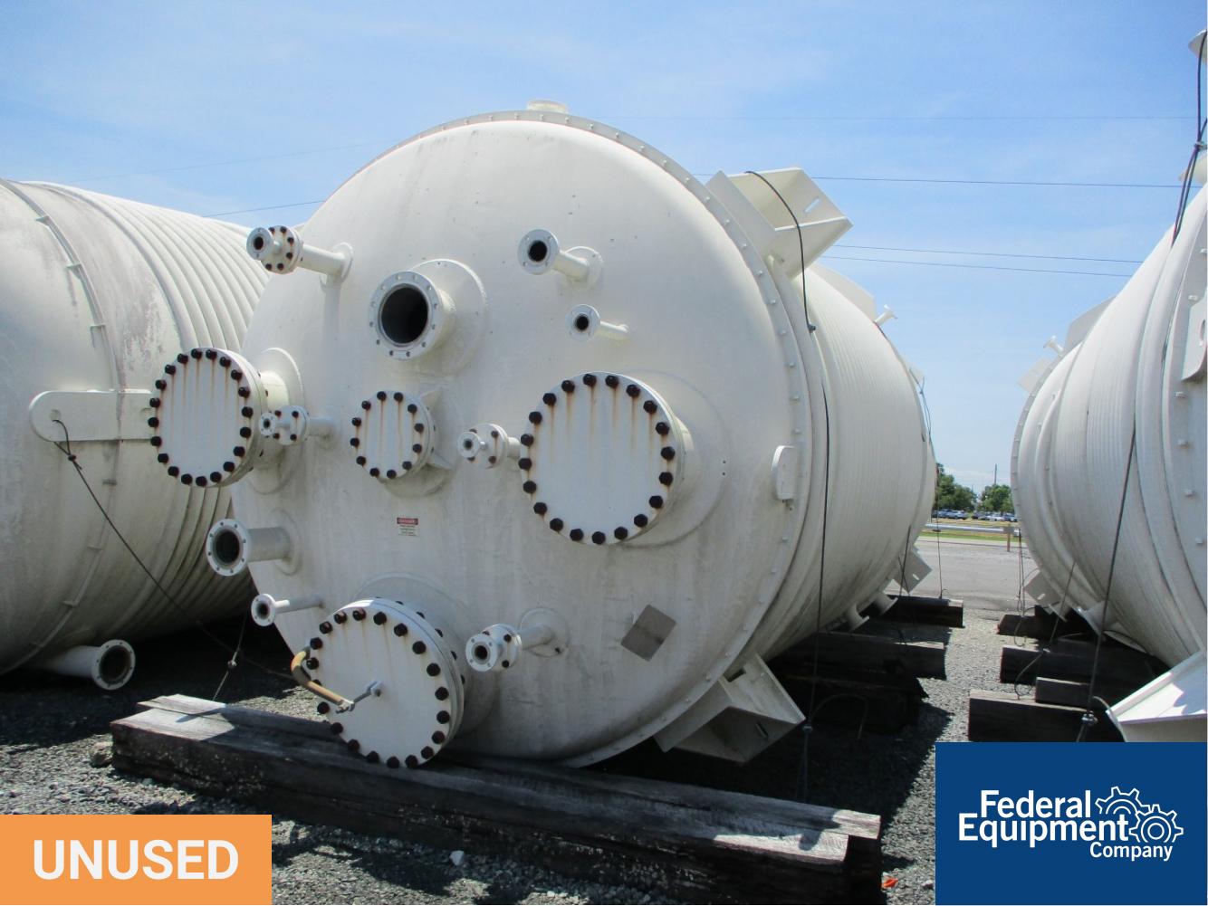 10,500 Gal Enerfab Reactor, 304 S/S, 41.5/50#
