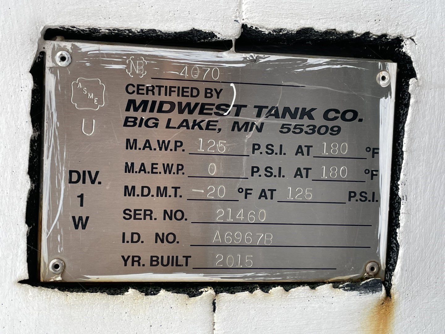 222 Ton Carrier Chiller, Air Cooled