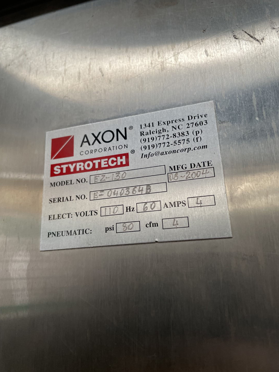 Axon Neck Bander and Tunnel, Model EZ-130