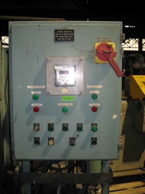 48 SQ FT STOKES VACUUM SHELF DRYER, 304 S/S