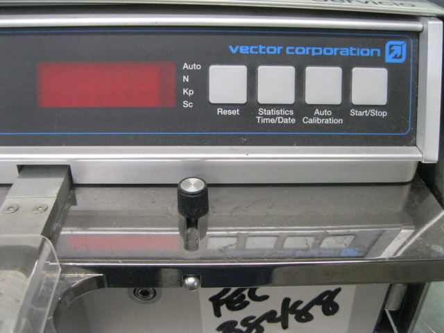 VECTOR COMPUTEST HARDNESS TESTER