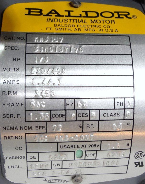 BENKO PRODUCTS DRUM OVEN, MODEL C3E4-1S