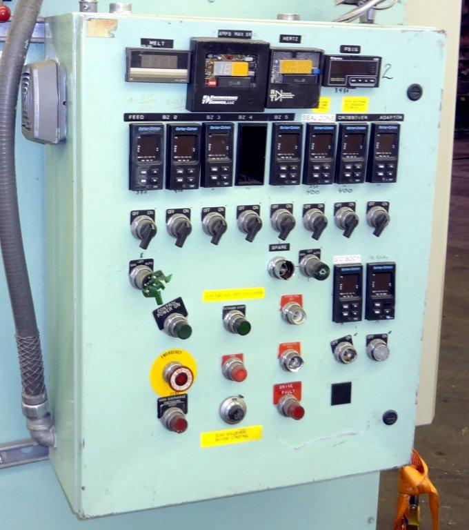 EXTRUDER CONTROL PANEL WITH 9 ZONES