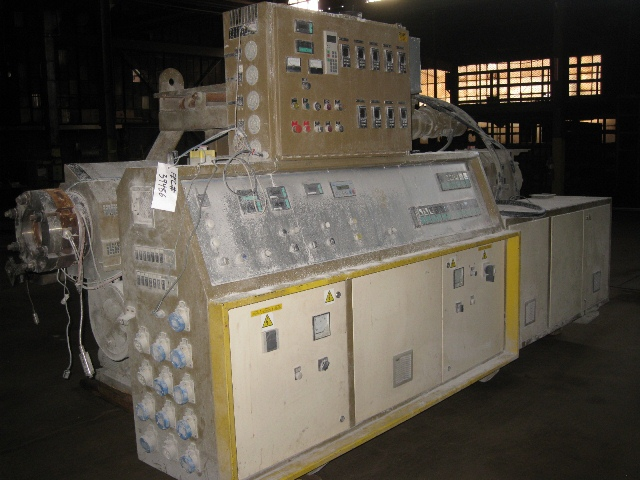 92MM Amut Counter Rotating Twin Screw Extruder, 24:1 LD
