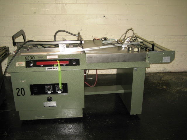 WELDOTRON L BAR SEALER WITH TUNNEL, MODEL 5212