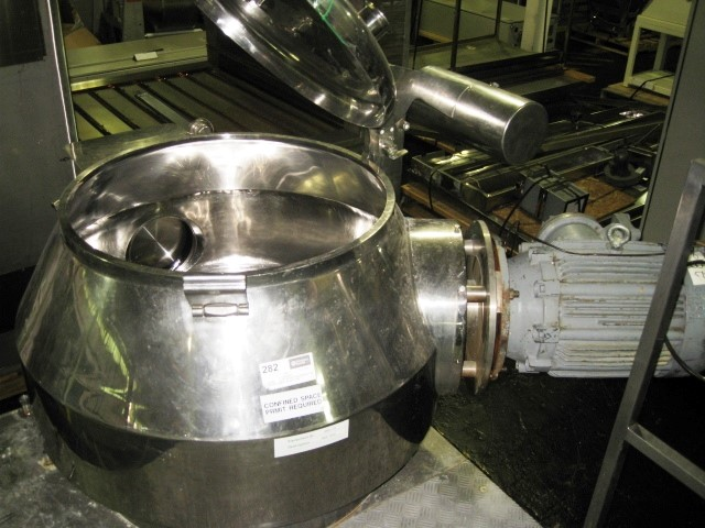 300 LITER NIRO FIELDER HIGH SHEAR MIXER, MODEL PMA 300, S/S