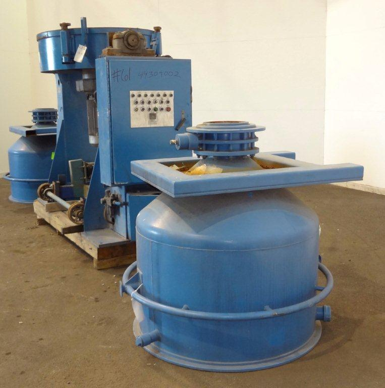 1000 Liter New Design Engineering Container Mixer, S/S