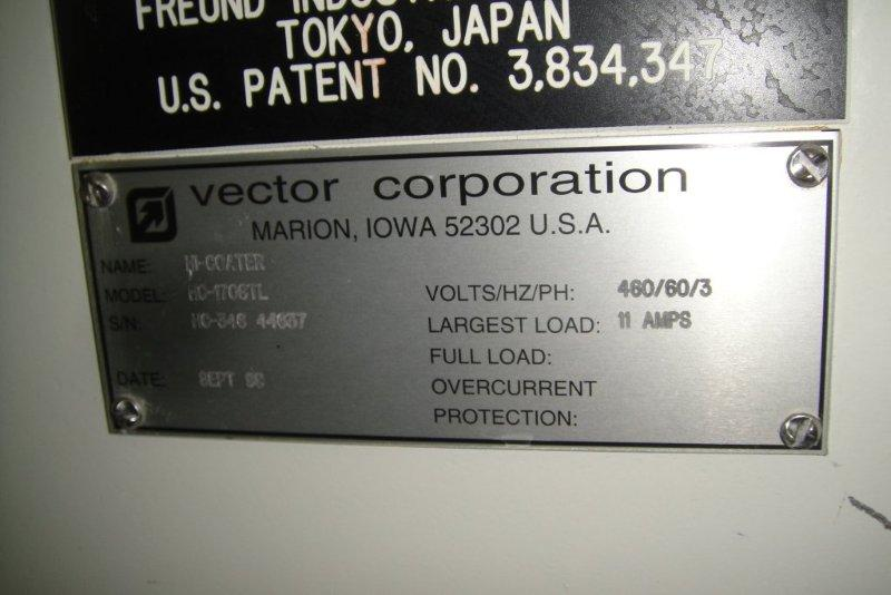 "67"" VECTOR COATING PAN, S/S"