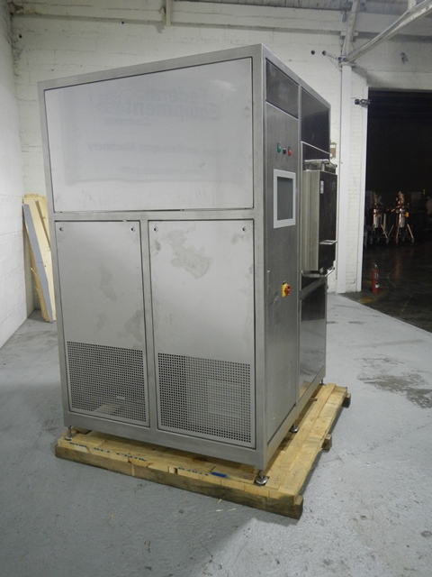 .47 SQ METER PINK VACUUM SHELF DRYER, 316L S/S