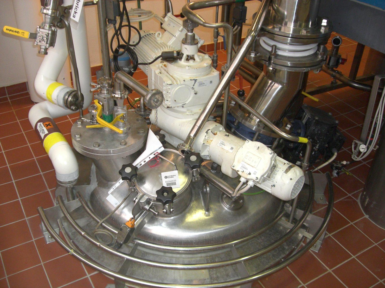 3.5 Cu Ft Hosokawa Nauta Dryer, 316 S/S