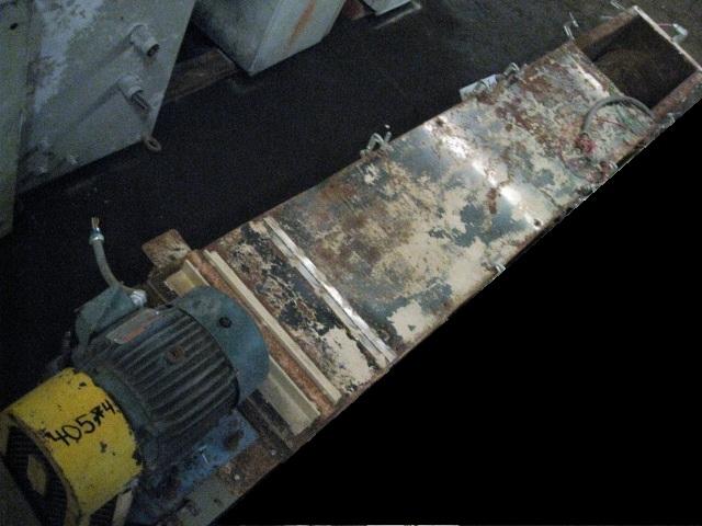 "14"" X 9.5'' CARBON STEEL SCREW CONVEYOR"