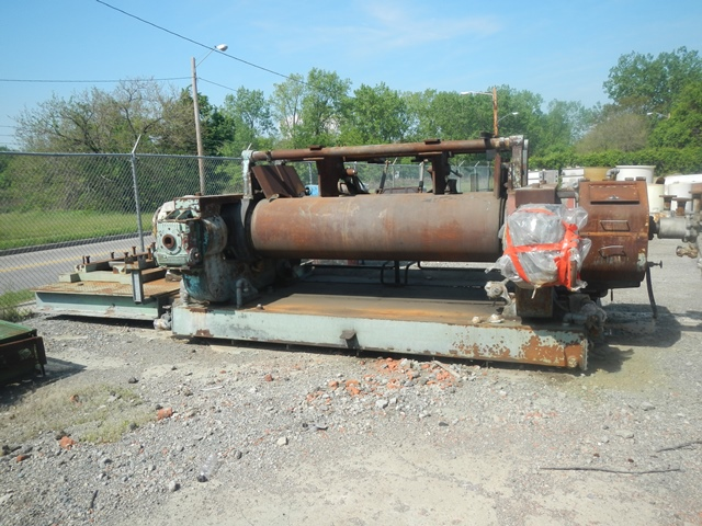 """100"""" x 26"""" TWO ROLL MILL"""