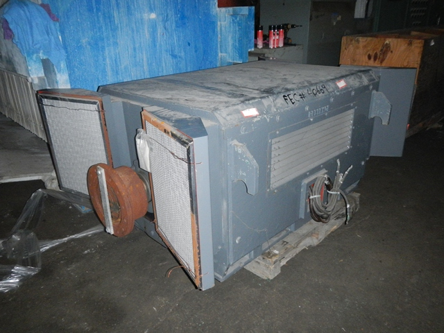 1500 HP RELIANCE AC MOTOR, 4160 VOLT, REBUILT