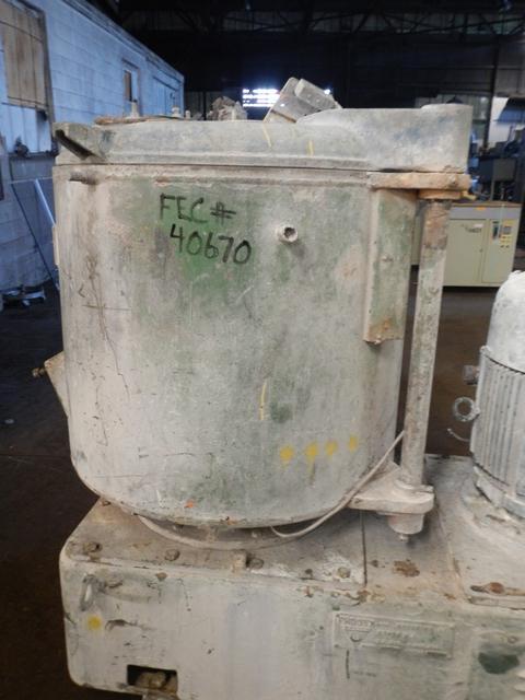 500 Liter Prodex-Henschel 115JSS High Intensity Mixer