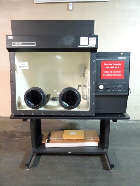 LABCONCO GLOVE BOX, MODEL 50650