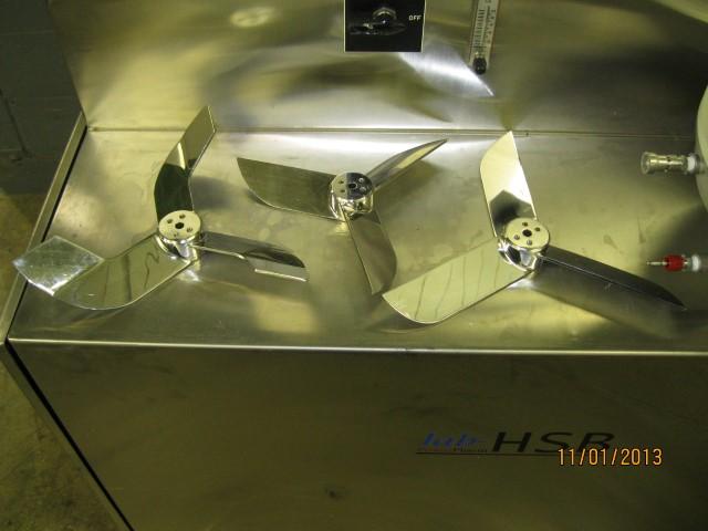 12 LITER FLUID AIR HIGH SHEAR MIXER, S/S, MODEL PX1