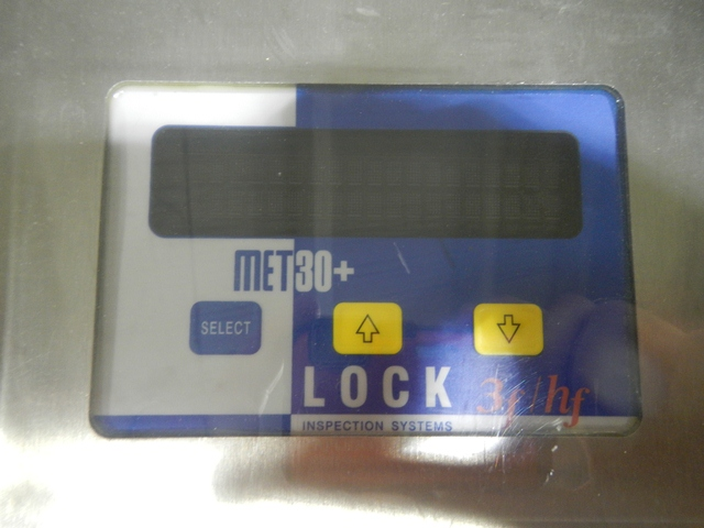 LOCK METAL DETECTOR, MODEL MET 30+