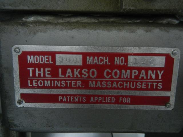 LAKSO TWIN HEAD COTTONER, MODEL 300
