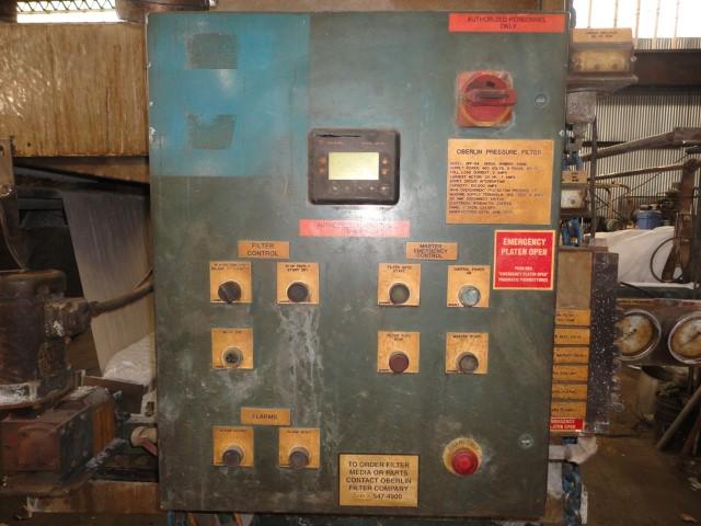 4 Sq Ft Oberlin Pressure Filter, Model OPF 4