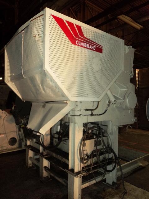 75 HP CUMBERLAND ESS1200 SHREDDER, 2011