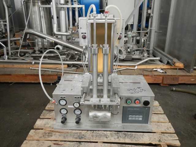 PF2-TT COZZOLI TWIN HEAD POWDER FILLER, S/S
