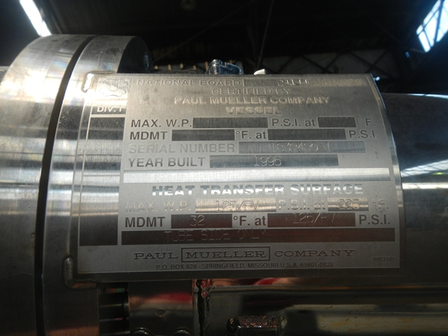 Mueller Pyropure WFI Still, Model SES