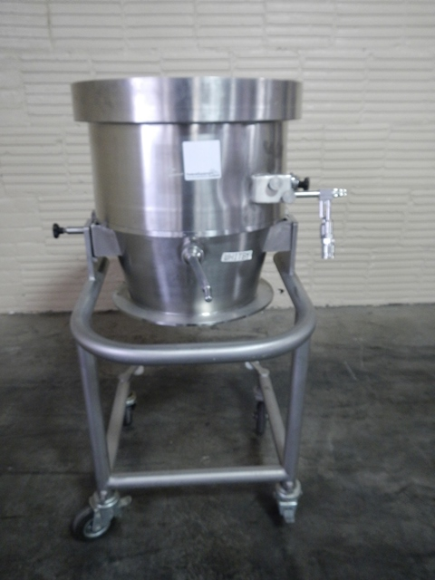 "Glatt 19.5"" Roto Granulator Bowl Attachment"