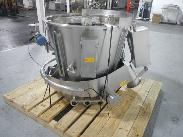 Glatt GPCG 60 SRS Fluid Bed Dryer Wurster Insert, S/S
