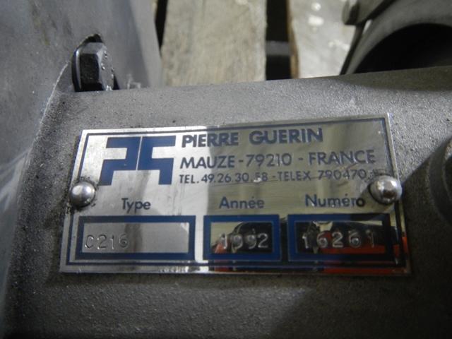 """2"""" X 1.5"""" PIERRE GUERIN PUMP, S/S, 2.2 KW"""