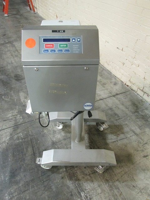 LOMA METAL DETECTOR, MODEL SUPERSCAN MICRO ISC