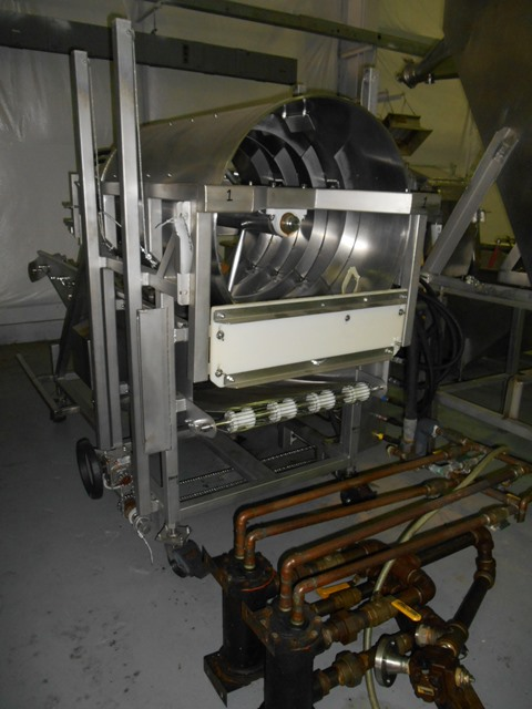 NOTHUM ROTARY BREADER PREDUSTER, MODEL FD-24
