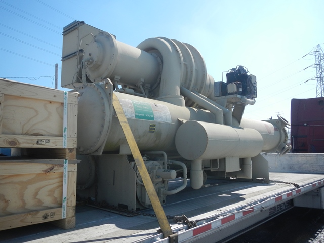 300 TON TRANE CHILLER, WATER COOLED