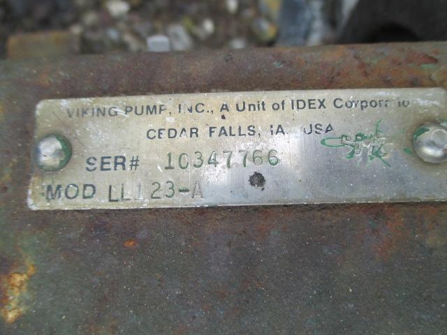 "3"" VIKING ROTARY GEAR PUMP, C/S, 7.5 HP"