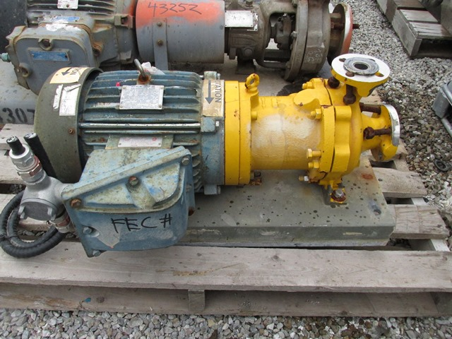 "1.5"" X 1"" KONTRO CENTRIFUGAL PUMP, 316 S/S, 7.5 HP"